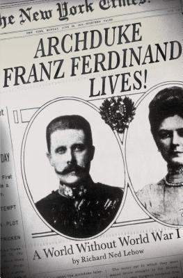 Archduke Franz Ferdinand Lives! Cover
