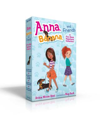 Cover for Anna, Banana, and Friends—A Four-Book Paperback Collection!