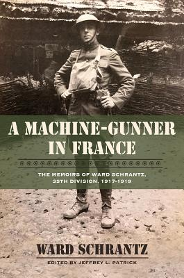 Cover for A Machine-Gunner in France