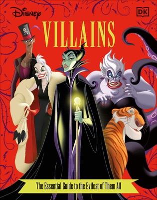 Disney Villains The Essential Guide, New Edition Cover Image