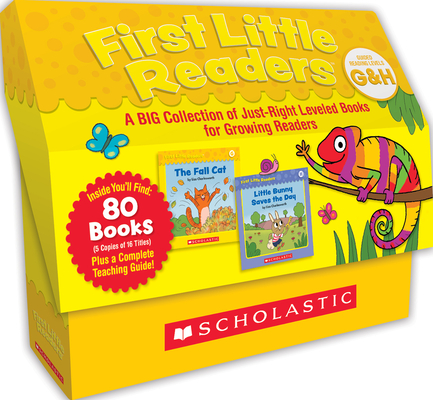 First Little Readers: Guided Reading Levels G & H (Classroom Set): A Big Collection of Just-Right Leveled Books for Growing Readers Cover Image