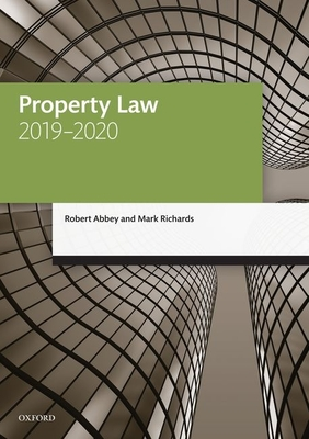 Property Law 2019-2020 Cover Image