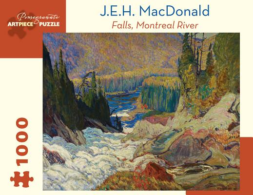 J.E.H. MacDonald: Falls, Montreal River 1000-Piece Jigsaw Puzzle Cover Image
