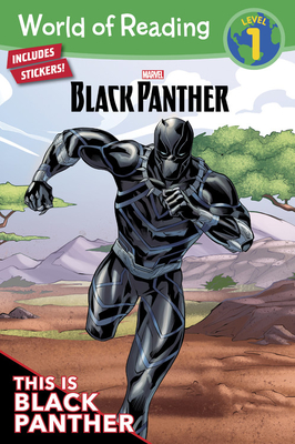 World of Reading: Black Panther: This is Black Panther (Level 1): Level 1 Cover Image