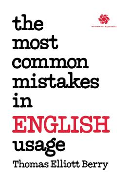 The Most Common Mistakes in English Usage Cover Image