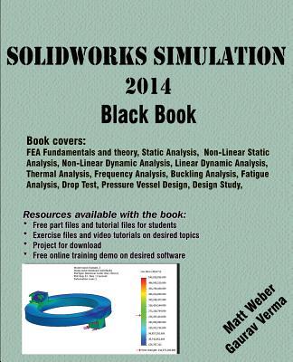 Solidworks Simulation 2014 Black Book Paperback Roscoebooks