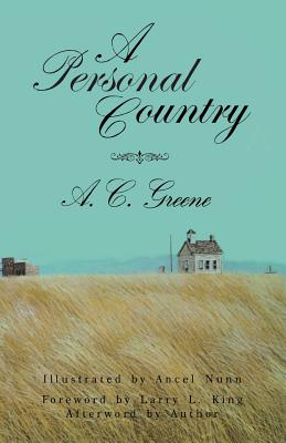 Cover for A  Personal Country