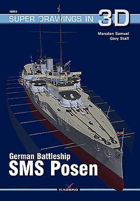 German Battleship SMS Posen (Super Drawings in 3D #1605) Cover Image