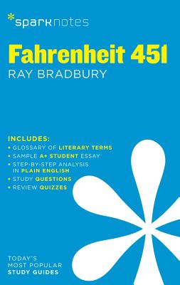 Fahrenheit 451 (Sparknotes Literature Guide) Cover Image
