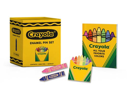Crayola Enamel Pin Set (RP Minis) Cover Image