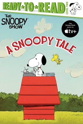 A Snoopy Tale: Ready-to-Read Level 2 (Peanuts) Cover Image