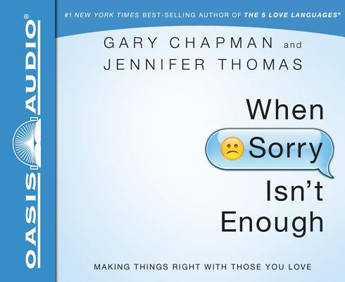 When Sorry Isn't Enough Cover