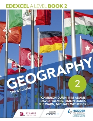 Edexcel a Level Geography Book 2 Cover Image
