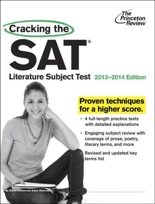 Cracking the SAT Literature Subject Test Cover