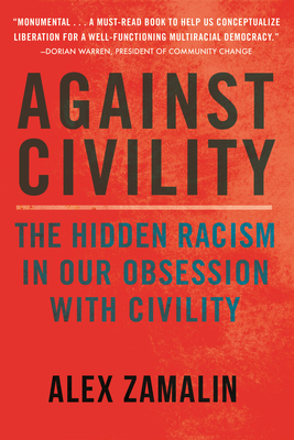 Cover for Against Civility