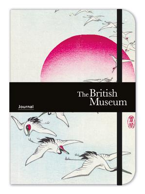Museums & Galleries British Museum Elasticized Journal Crane and the Rising Sun Cover Image