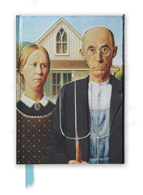Grant Wood: American Gothic (Foiled Journal) (Flame Tree Notebooks #8) Cover Image