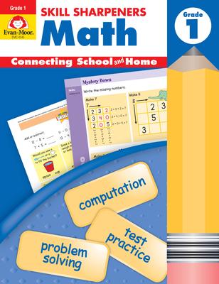 Skill Sharpeners Math Grade 1 Cover Image