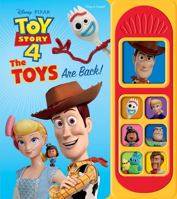 Disney-Pixar Toy Story 4: The Toys Are Back! (Play-A-Sound) Cover Image