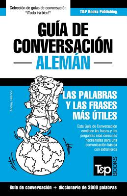 Guía de Conversación Español-Alemán y vocabulario temático de 3000 palabras Cover Image