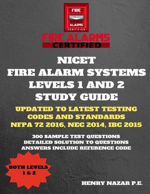 NICET Fire Alarm Systems Levels 1 & 2 Study Guide Cover Image