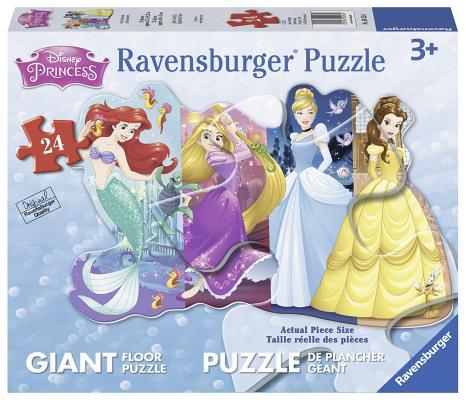 Pretty Princesses 24 PC Shapre Cover Image