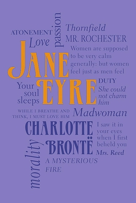 Jane Eyre (Word Cloud Classics) Cover Image