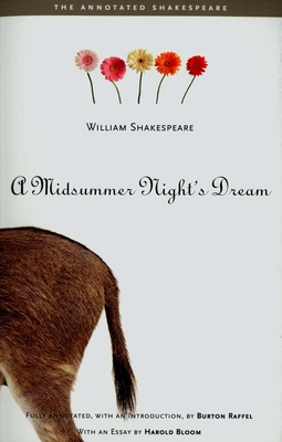 Cover for A Midsummer Night's Dream (The Annotated Shakespeare)
