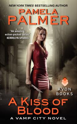 A Kiss of Blood: A Vamp City Novel Cover Image