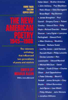 The New American Poetry, 1945-1960 Cover
