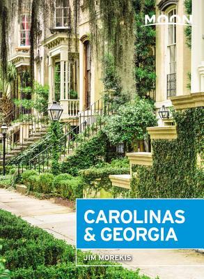 Moon Carolinas & Georgia (Travel Guide) Cover Image