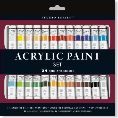 Studio Series Acrylic Paint (24) Cover Image