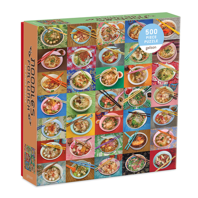 Noodles for Lunch 500 Piece Puzzle Cover Image