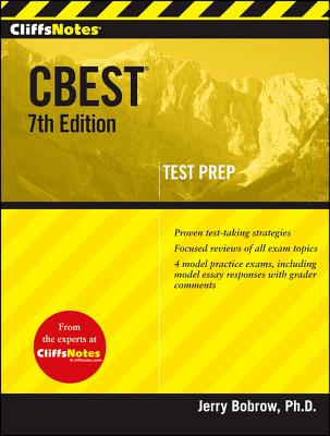 CliffsNotes CBEST, 7th Edition Cover Image