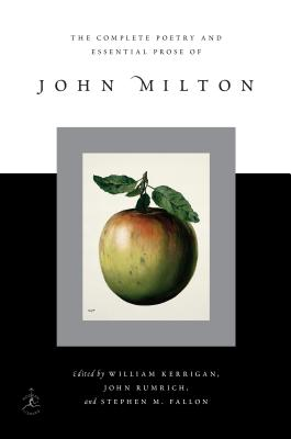 The Complete Poetry and Essential Prose of John Milton Cover