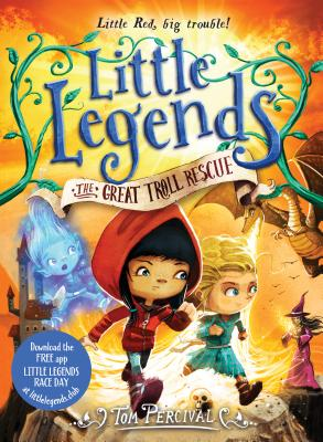 The Great Troll Rescue (Little Legends #2) Cover Image