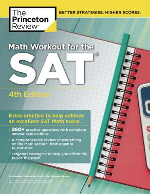Math Workout for the SAT, 4th Edition cover image