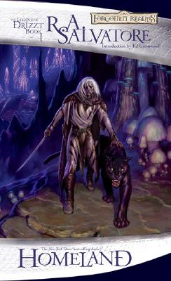 Homeland (The Legend of Drizzt #1) Cover Image