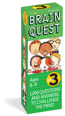 Brain Quest 3rd Grade Q&A Cards: 1000 Questions and Answers to Challenge the Mind. Curriculum-based! Teacher-approved! (Brain Quest Decks) Cover Image