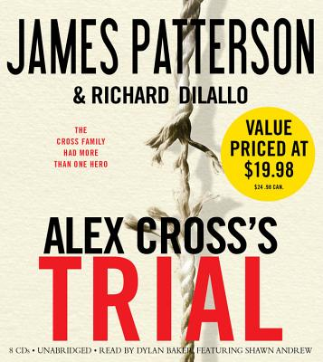 Alex Cross's TRIAL Cover