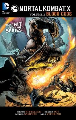 Mortal Kombat X Vol. 2: Blood Gods Cover Image