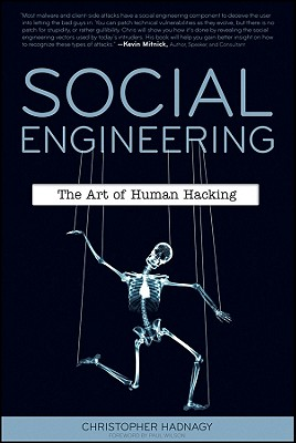Social Engineering: The Art of Human Hacking Cover Image
