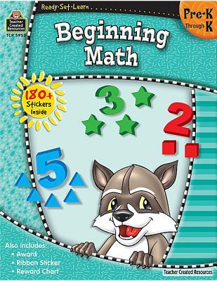 Ready-Set-Learn: Beginning Math Prek-K Cover Image