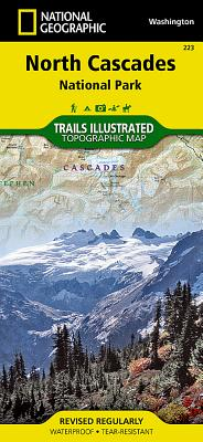 North Cascades National Park (National Geographic Trails Illustrated Map #223) Cover Image