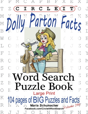 Circle It, Dolly Parton Facts, Word Search, Puzzle Book Cover Image