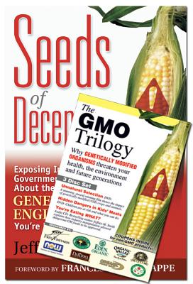 Seeds of Deception & Gmo Trilogy (Book & DVD Bundle) [With CD/DVD] Cover