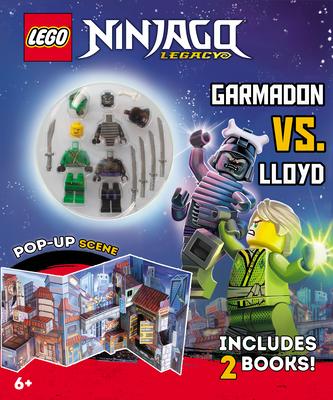 Ninja Mission: Garmadon vs. Lloyd [With 2 Lego Minifigures] (Lego Ninjago) Cover Image
