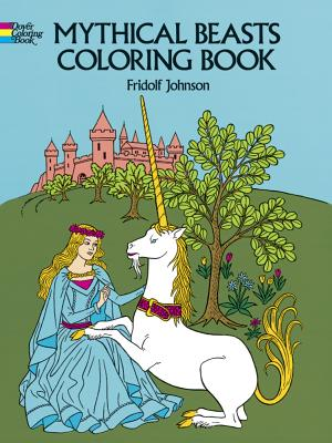 Mythical Beasts Coloring Book (Dover Coloring Books) Cover Image