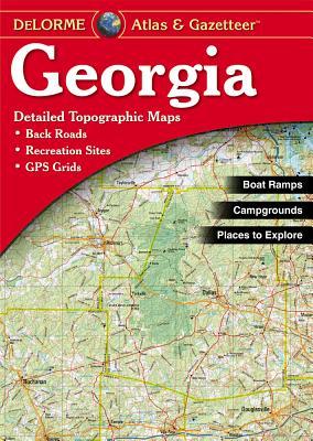 Georgia - Delorme2nd (Georgia Atlas & Gazetteer) Cover Image