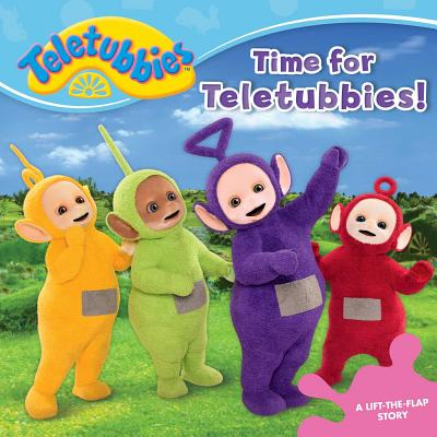 Time for Teletubbies!: A Lift-the-Flap Story Cover Image
